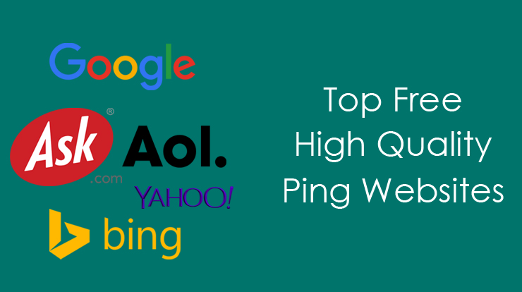 Top-FREE-Top-High-PR-Ping-Websites