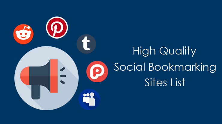 Dofollow Social Bookmarking Sites 2019