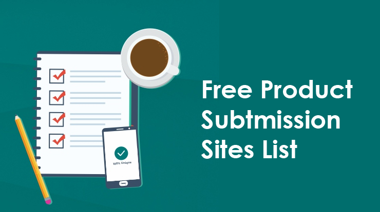 Free Product Submission Sites List